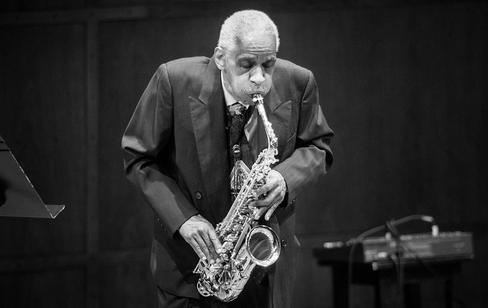 Roscoe Mitchell at Benaroya Hall in Seattle