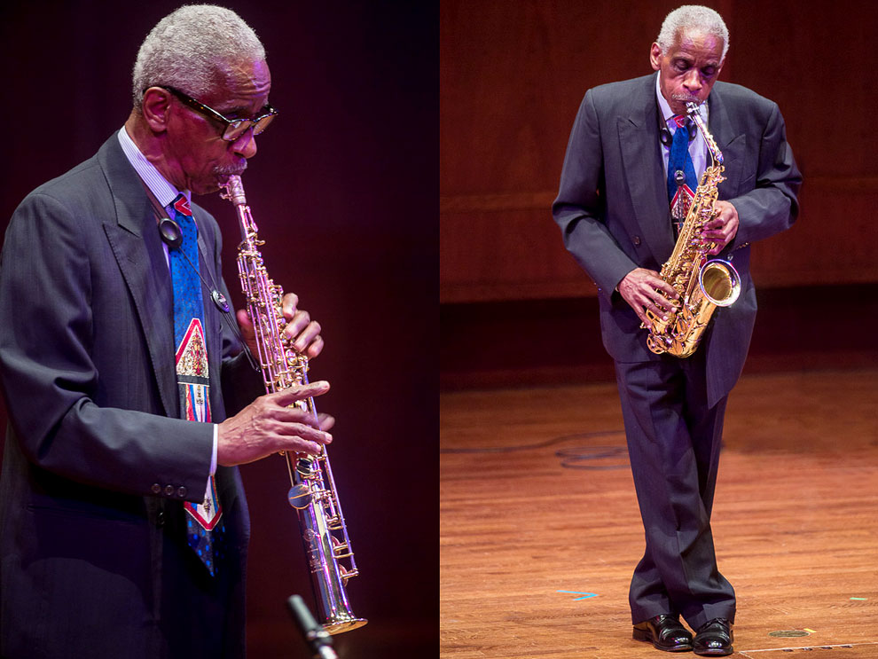 Roscoe Mitchell performing Nonaah in Seattle
