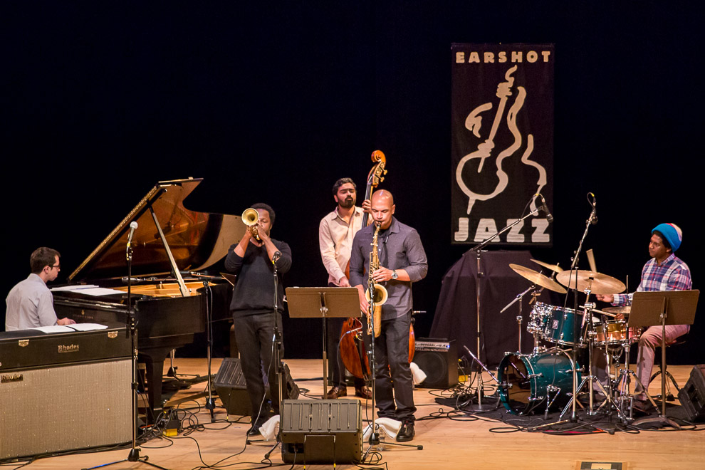 Jazz muscian Ambrose Akinmusire in Seattle