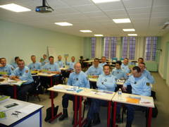 02.12.2009 Training of the French police