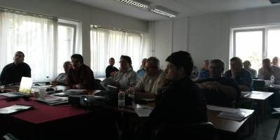 07.04.2016 Training course given to road officials of the Hungarian National Transport Authority