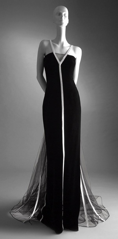 Black Velvet Evening Dresses