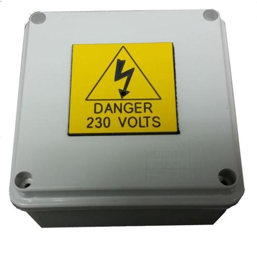 Junction Box Concealed Surveillance Camera Video Recorder-0