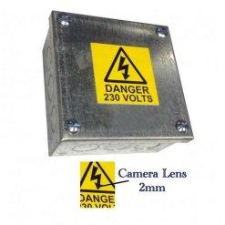 Junction Box Concealed Surveillance Camera Video Recorder-2562