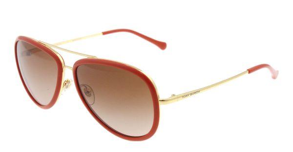 Tory Burch Orange Sunglasses
