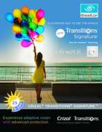 Transitions lenses poster