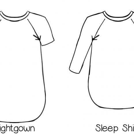 Callie's Nightgown & Nightshirt (XS-5X)