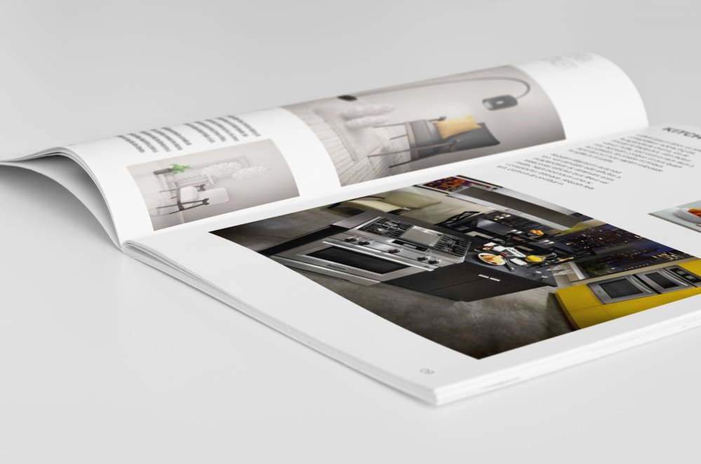 latest Bi-Fold A4 MockUp