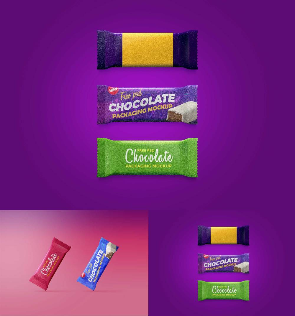 Chocolate Packaging Mockup