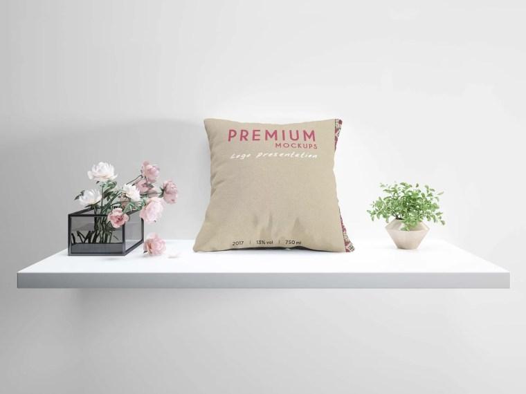 Cushion Pillow Deisgn Mockup