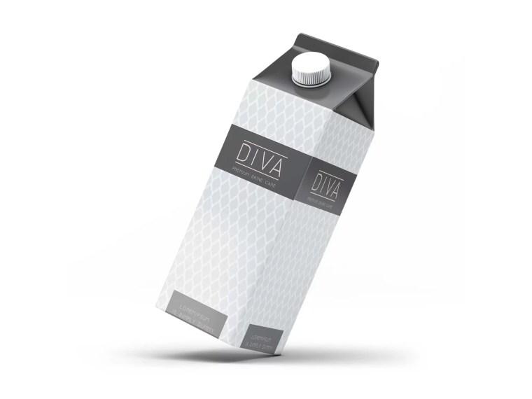 New Packaging Juice Label Mockup
