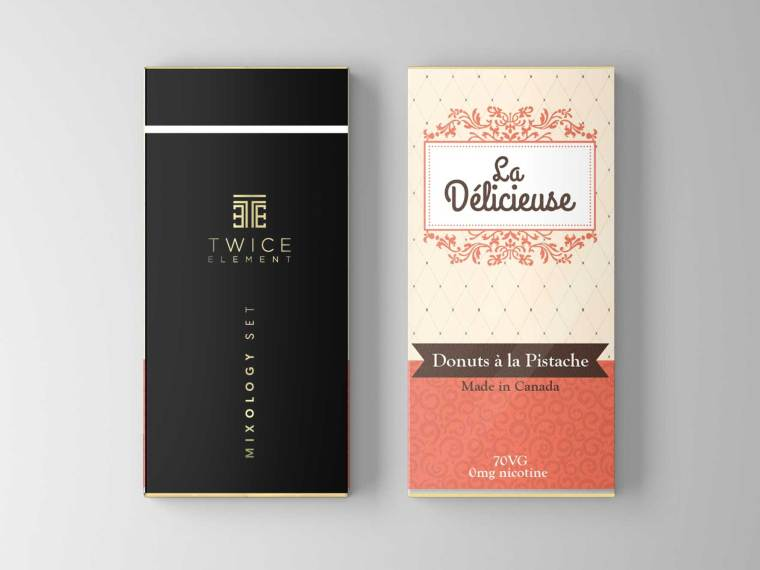 Premium Chocolate Packet Mockup