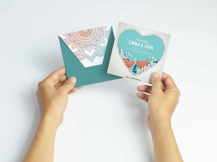 Premium Invitaion Design Mockup