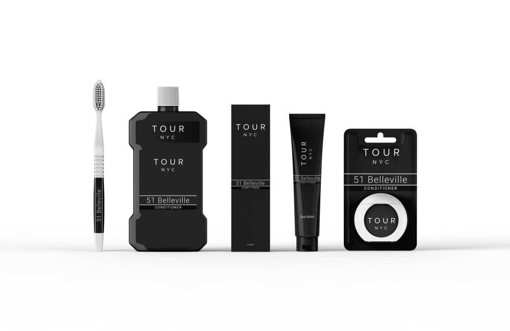 Toothcare Branding Identity Packaging Mockup