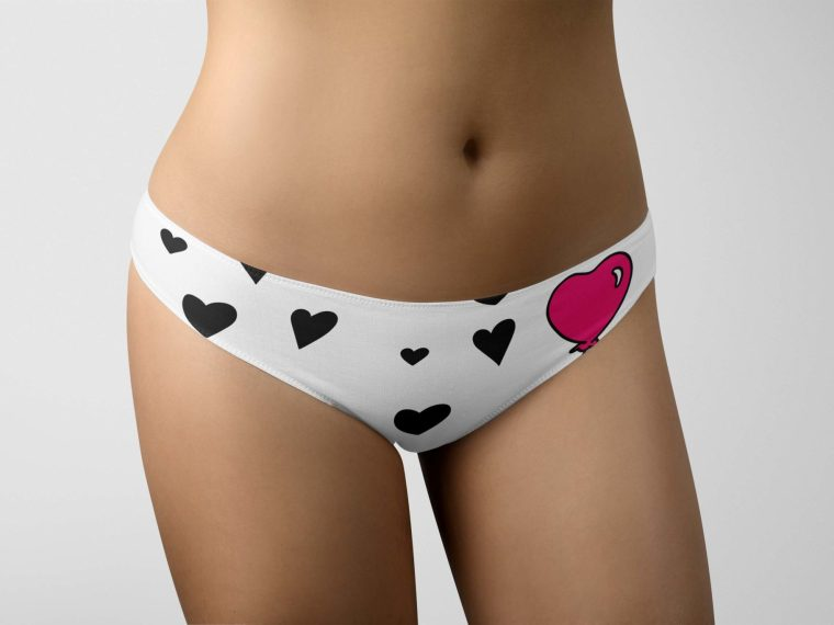 New Premium Panties Design Mockup