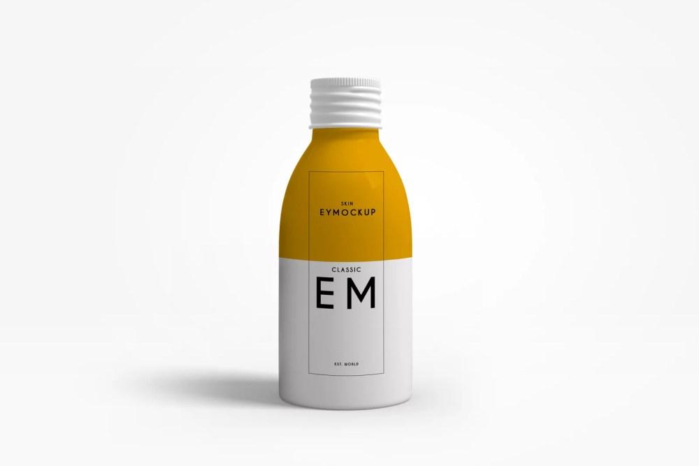 Premium Cough Syrup Liquid Medicine Mockup