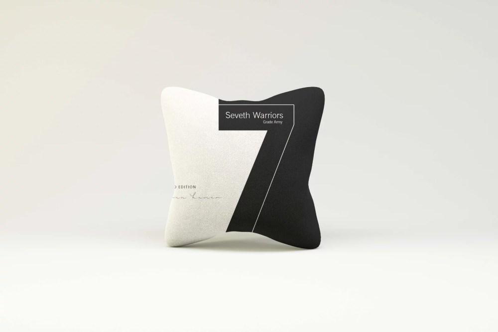 Premium Modern Pillow Design Mockup