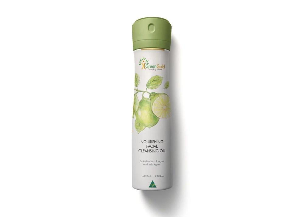 Premium Deo Bottle Label Mockup