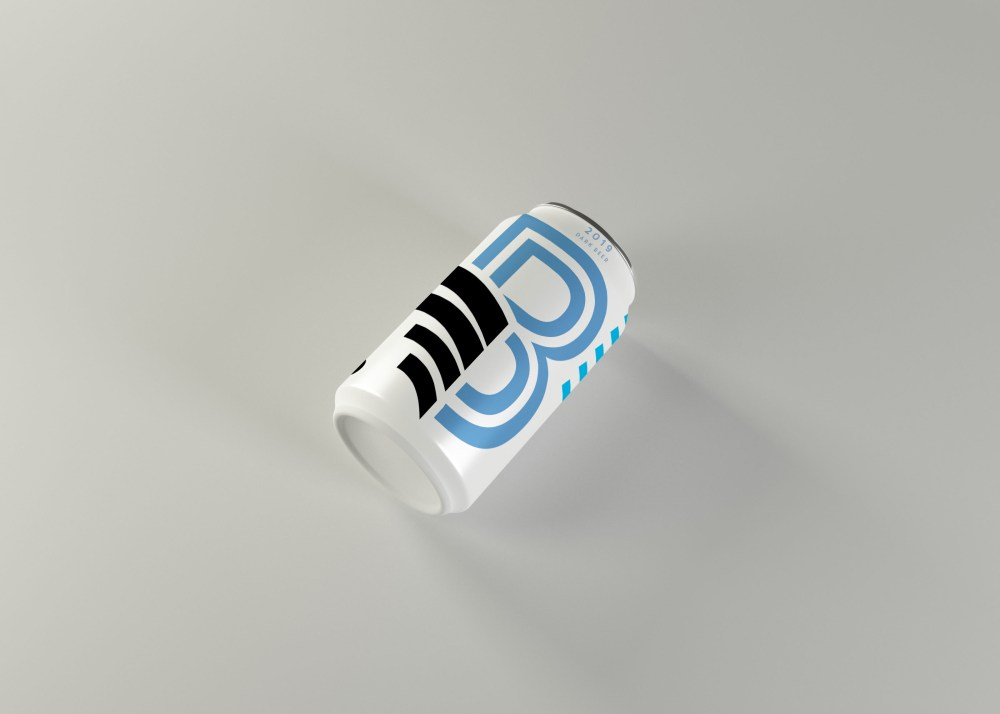 New Beer Can Mockup