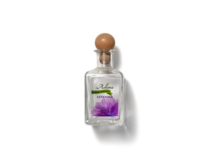 Scent Ether Bottle Label Mockup