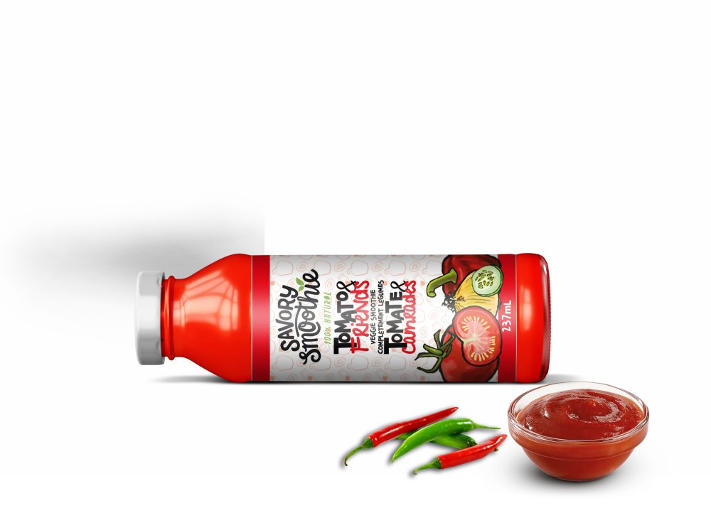 Tomato Ketchup Bottle Mockup