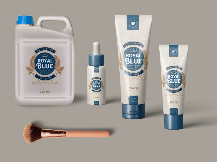 Collection Beauty Product PSD Mockup