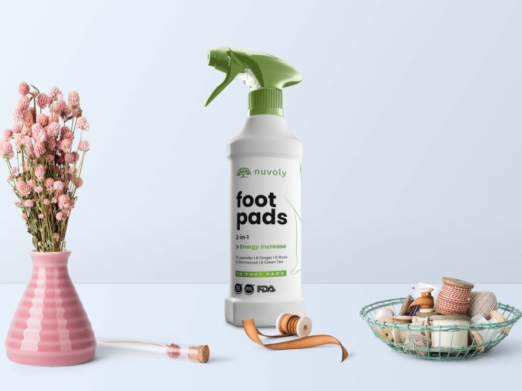 Foot Pad Spray Cleaner Mockup