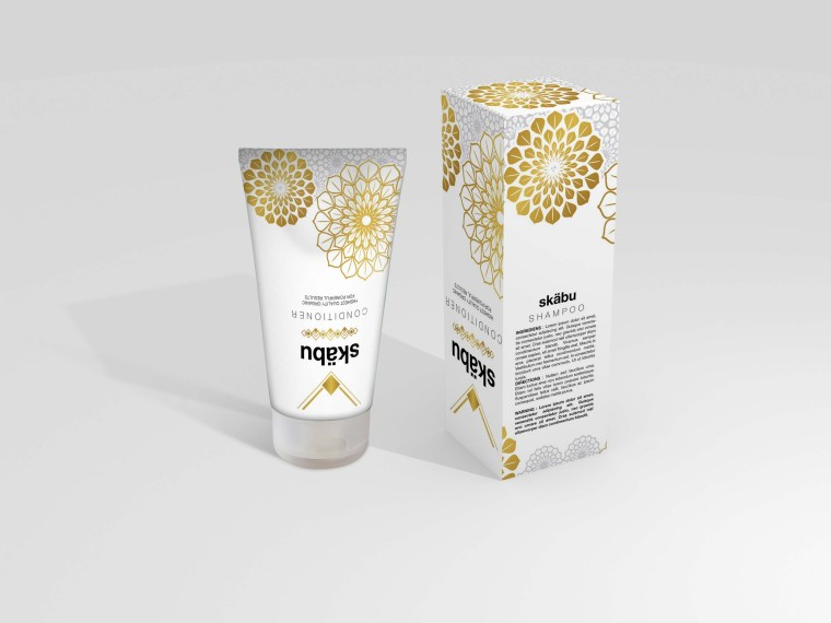 Prime Gel Tube Packaging Mockup