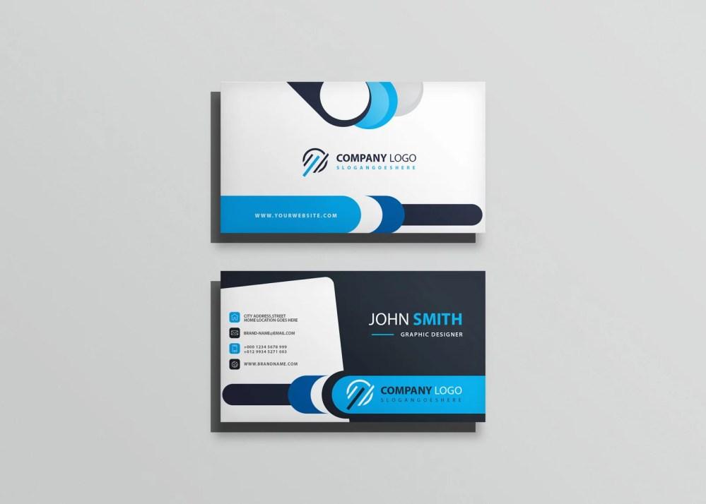 Business Card Mockup 2019