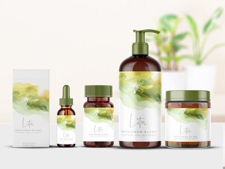Green Litu Branding Mock-Up