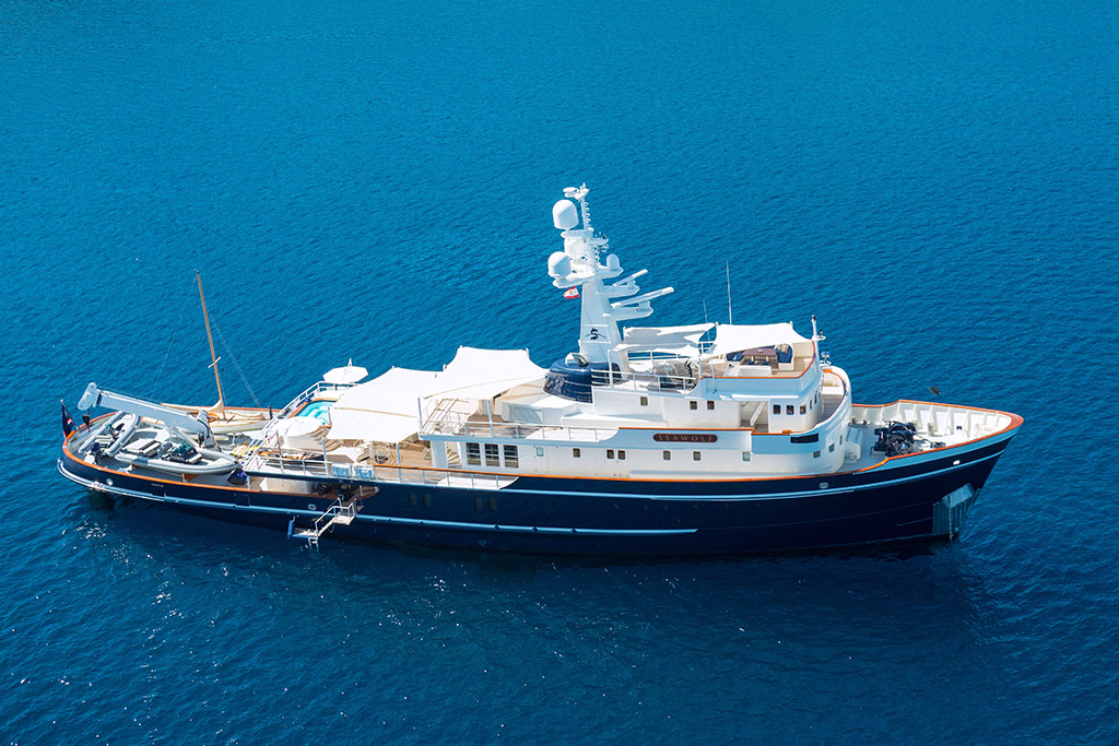 Seawolf Expedition Yacht Charter EYOS Expeditions