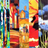 """Colouration"" Art Exhibition by The Dorset Five: Saturday 16th June to Sunday 24th June"