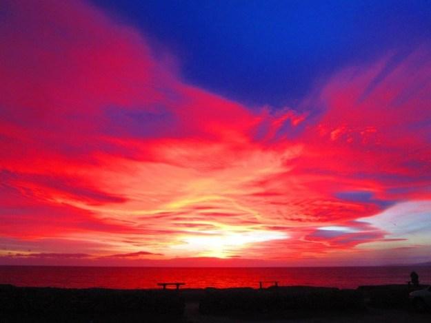 Burton Bradstock Sunset