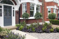 Front Garden Design in London by Kate Eyre