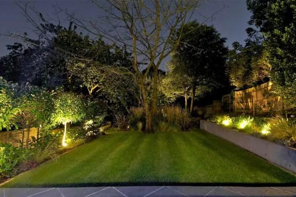 Garden Lighting Design in London Landscape Lighting