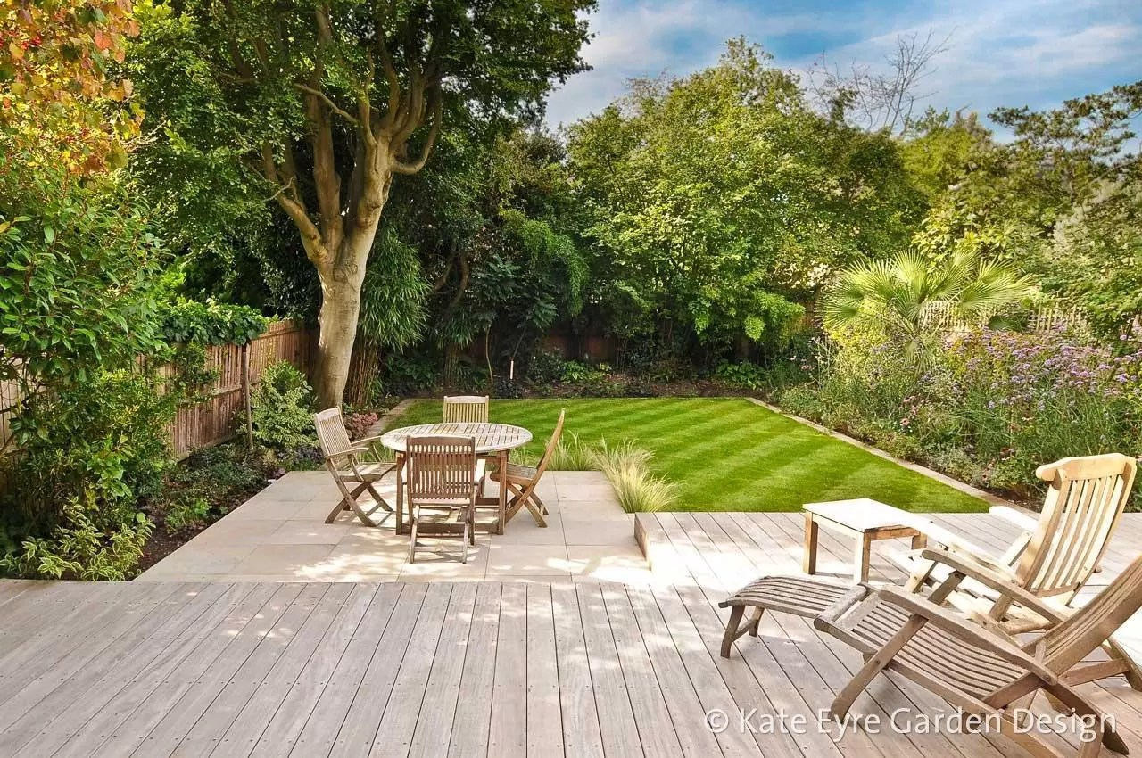 Garden Design in Wimbledon SouthWest London by Kate Eyre