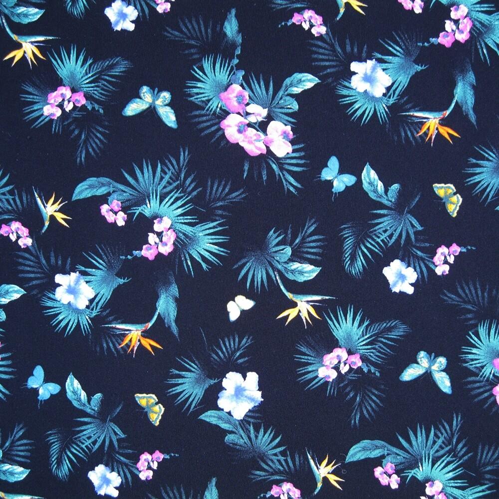 Nylon Lycra Digital Printed Single Jersey Fabric