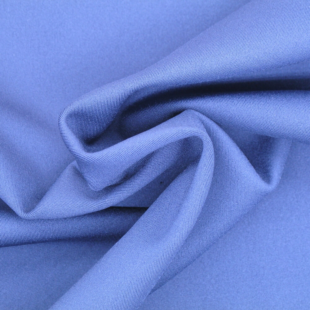 83%Polyester 17%Spandex Double Knit Fabric