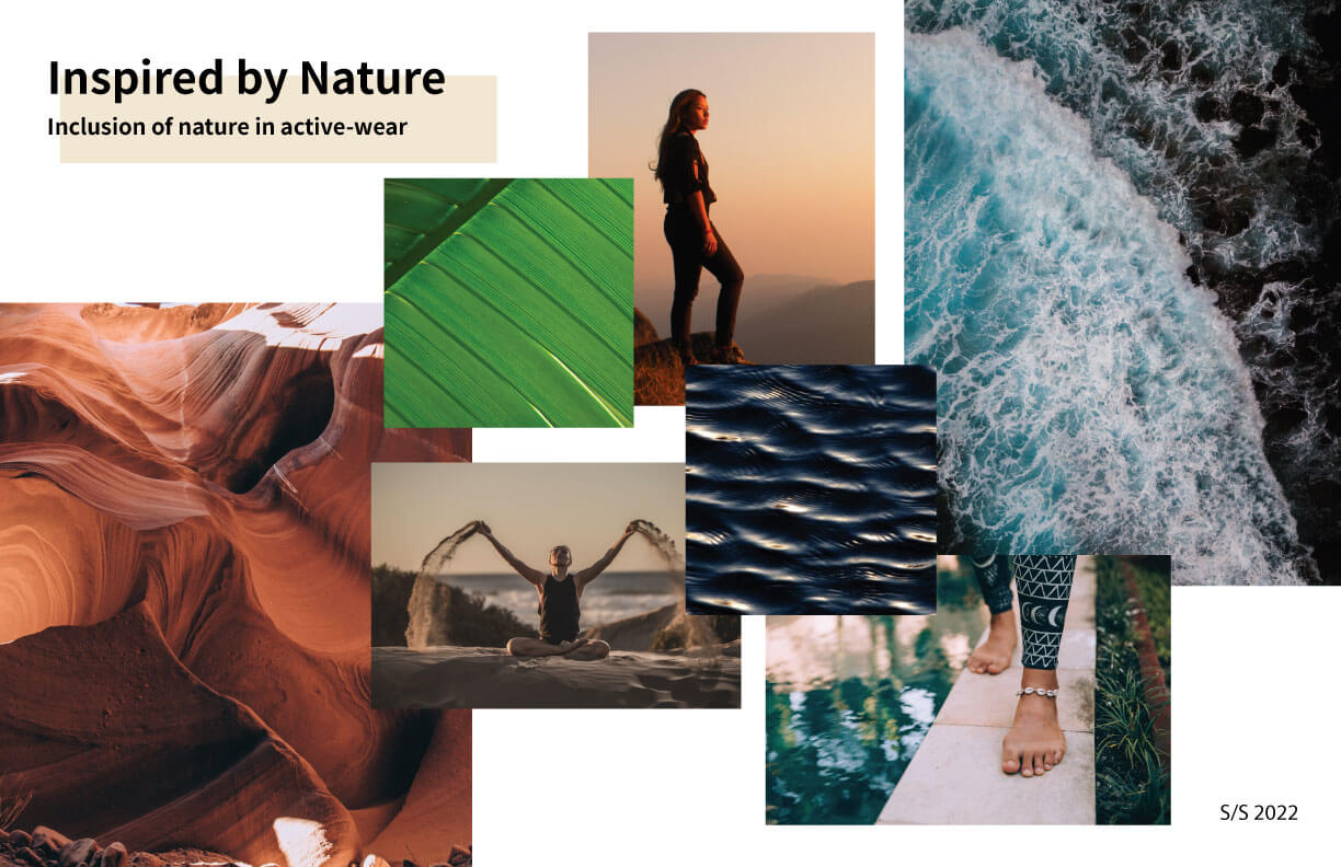SS2022-Fabric-trend-board-inspired-by-nature