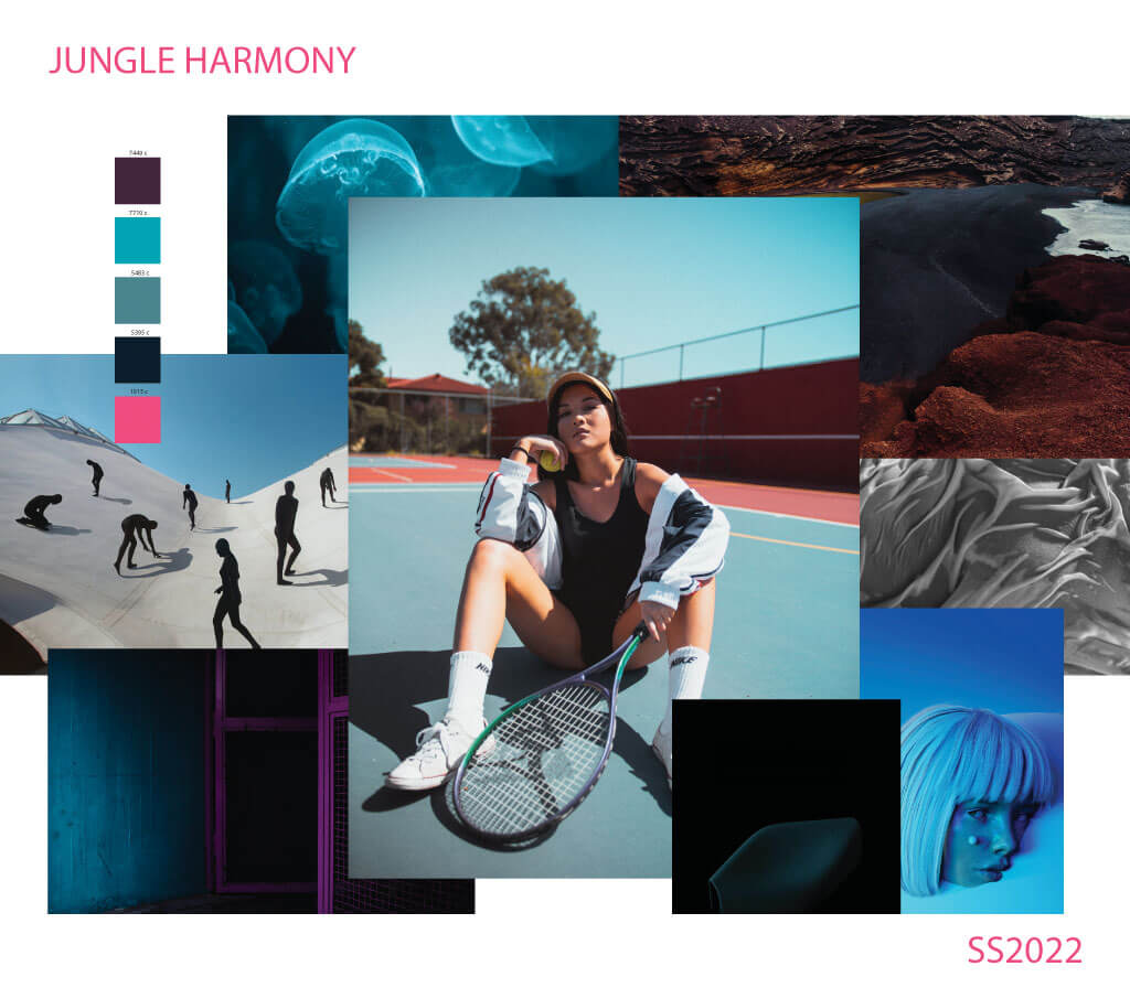 Sportswear color trend SS2021-3.-Jungle-Harmony