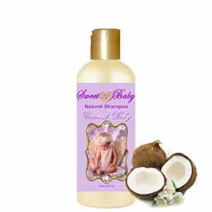 Sweet Baby Shampoo, 16 oz., Sulfate Free, No Parabens, Phthalates, Dyes, Endocrine Disruptors, SLS Free, Vegan, Natural