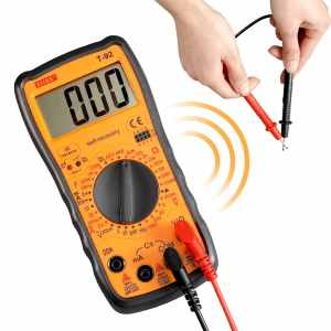 ELIKE T-92 self-recovery digital multimeter AmpOhmVolt with diode, continuity, IR detector,capacitance multi testers DMM