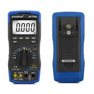 HoldPeak HP-770series Digital Multimeter Meter with NCV Feature and FrequencyDidehFE Test (HP-770G-blue-01)