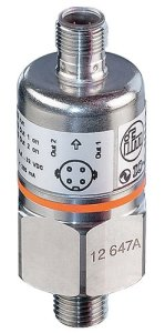 IFM Efector PX3224 Electronic Pressure Sensor, 0 to 100 PSI Measuring Range