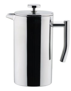 MIRA Small Stainless Steel French Press - 3 cups (4 oz each) Coffee Plunger, Press Pot, Best Tea Brewer & Maker, Quality Cafetiere - Double Walled. Individual Serving