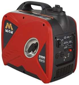 Mi-T-M GEN-2000-IMM0 Portable Generator, Inverter, 2000W, 12V DC Charger