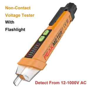 NAMEO Non-Contact Voltage Tester, 12-1000V AC Voltage Detector with Flashlight Function