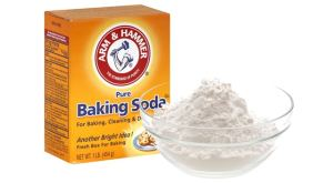 Sodium bicarbonate or baking soda