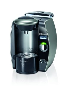 Tassimo by Bosch TAS6515UC Single Serve Coffee Brewer, Twilight Titanium - Amazon Vine
