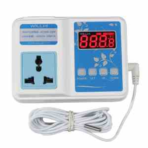 Willhi Wh1436 Ac 110v - 240v Digital Temperature Controller Thermostat Control Switch Unit 1 Relay Output with Sensor